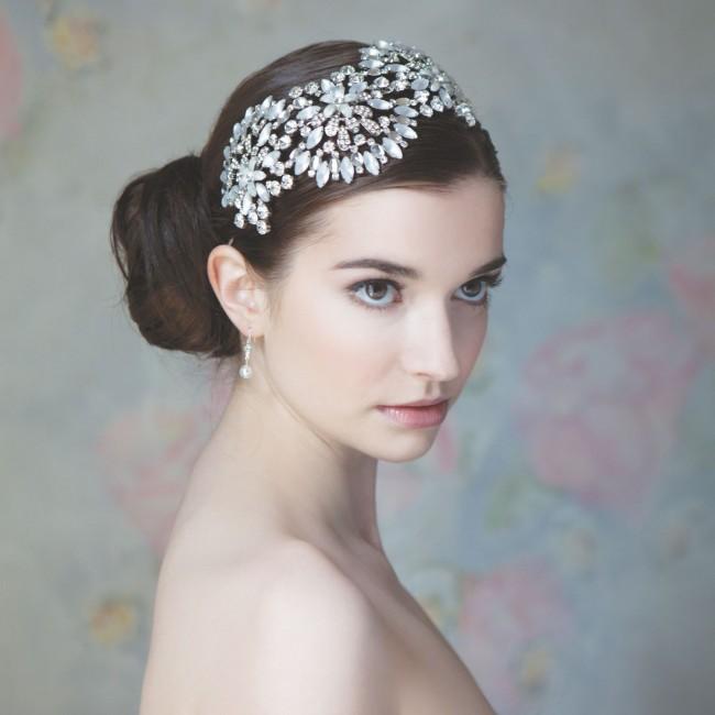 headband anmone alternative au diadme idal avec une robe simple ou la robe karen - Diademe Mariage Oriental