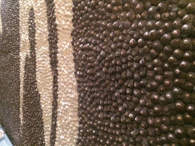 Il carpaccio Mur de coquillage Thomas Boog Philippe Starck