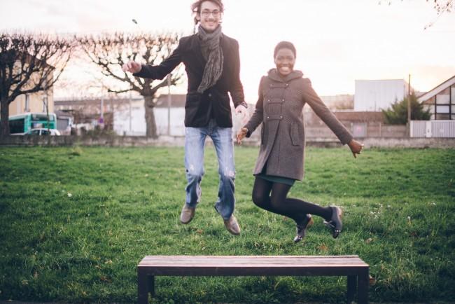 Couple mixte séance engagement My cultural wedding chic Trentième étage  (20)