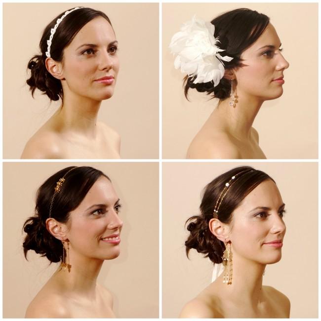Headband mariage blog mariage les noces romantiques