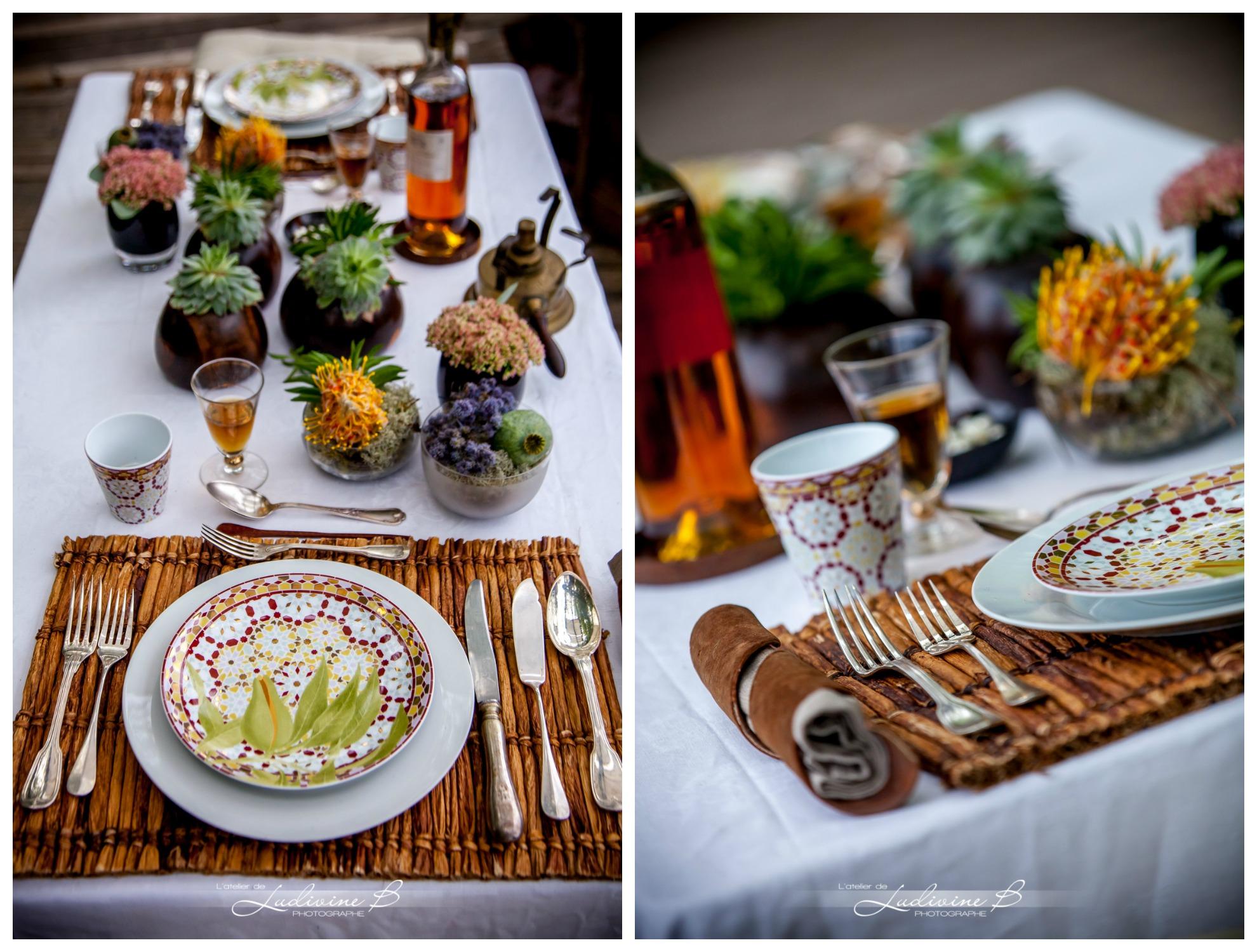 Decoration mariage theme africain