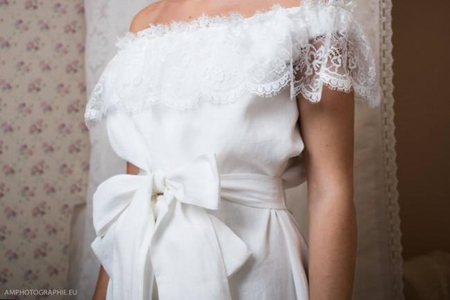 Robe de mariée sur mesure  (2)