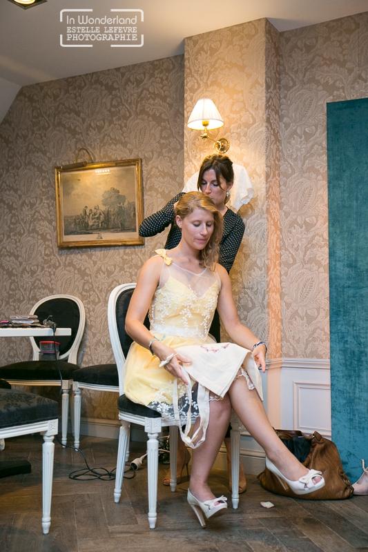 Louise Valentine créateur ROBE DE mariée robe demoiselle d'honneur - Try on Party (70)