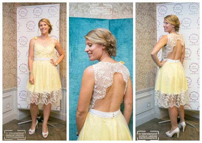 robe demoiselle d'honneur pastel Louise Valentine