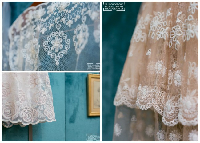 robes demoiselle d'honneur Louise Valentine