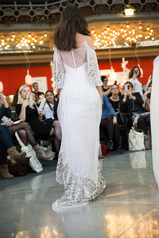 printemps mariage robe de mariée 2016 zankyou (46) rue de Seine Luna Back Dos
