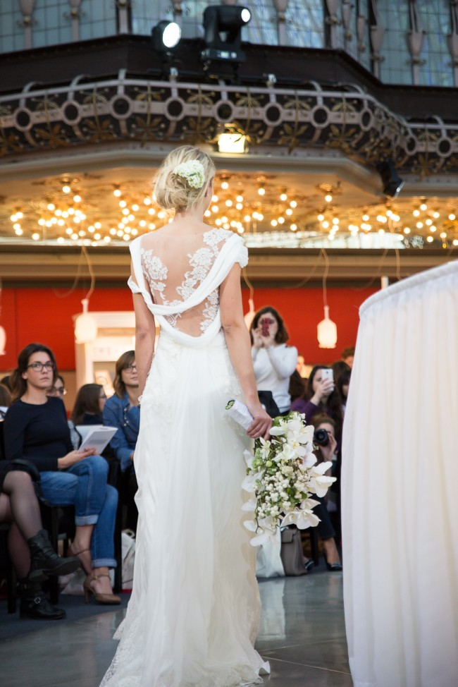 printemps mariage robe de mariée 2016 zankyou (63) alberta Ferretti Aurora Gown back