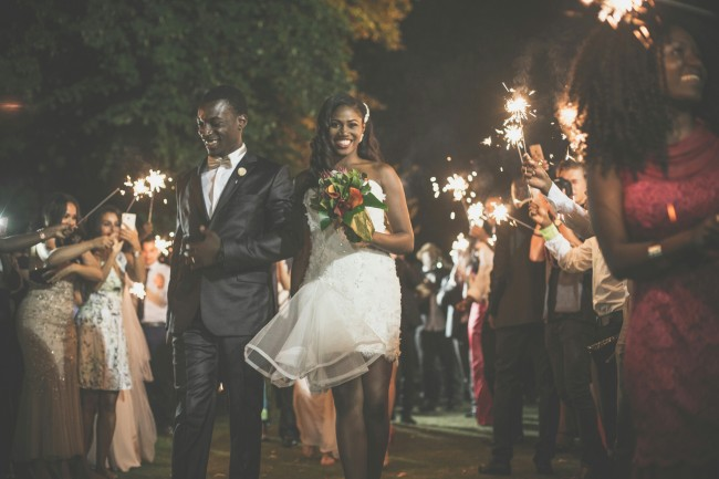 Luxious black african wedding  (69)