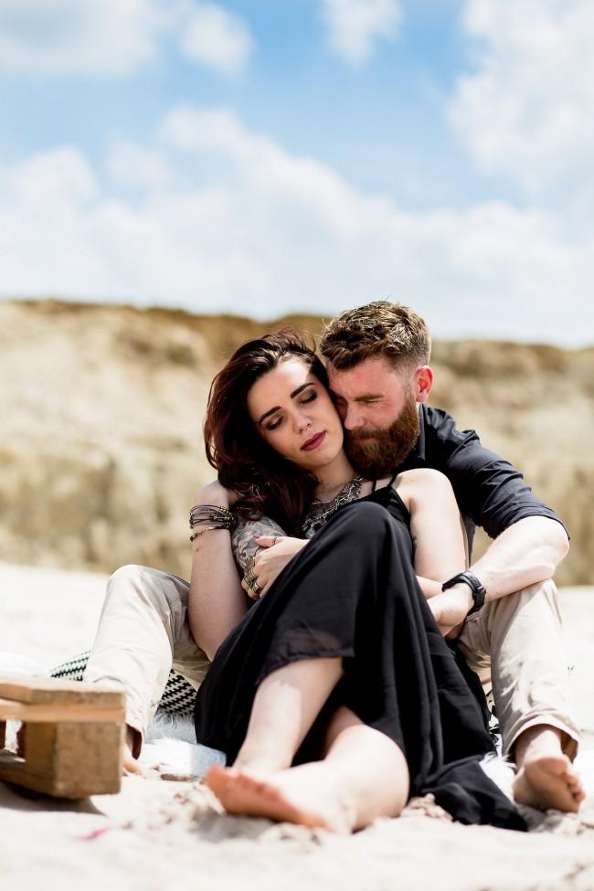 amoureux fiancés plage dark (23)