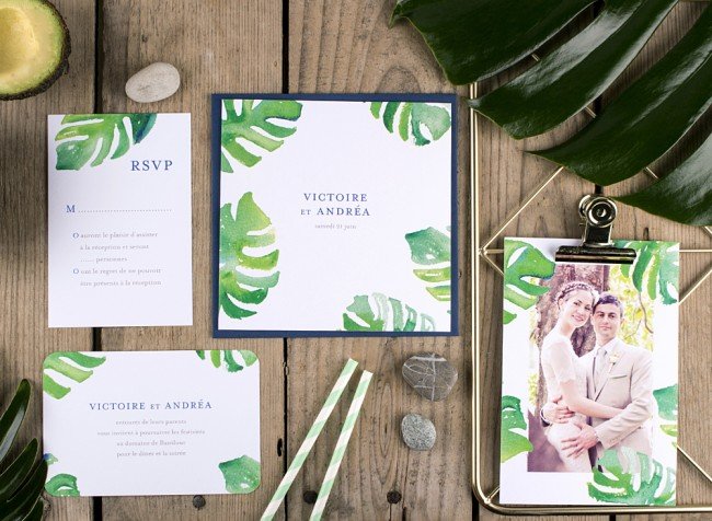 faire-part-mariage-tropical-acapulco-mixte-ethnique-chic-blanc-vert